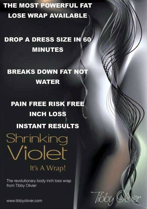 Shrinking Violet Wrap
